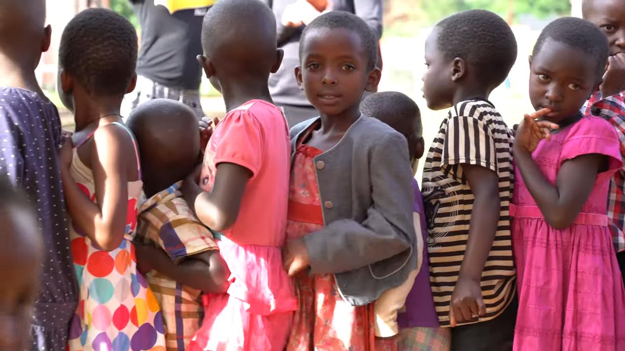 Children Participating in Amaani Gabato
